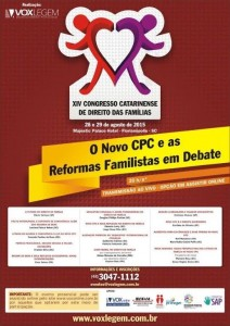 FAMÍLIA EM DEBATE, ESPERANDO O NOVO CPC