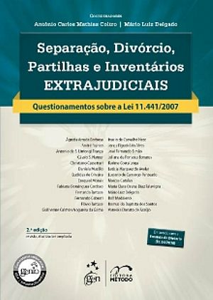 Separação, divórcio, partilhas e inventários extrajudiciais